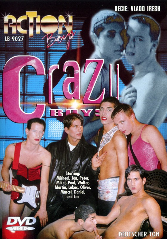 Crazy Boys (Action Boys) DVD - Front