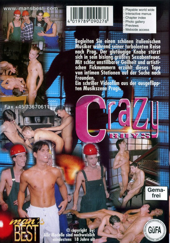 Crazy Boys (Action Boys) DVD - Back