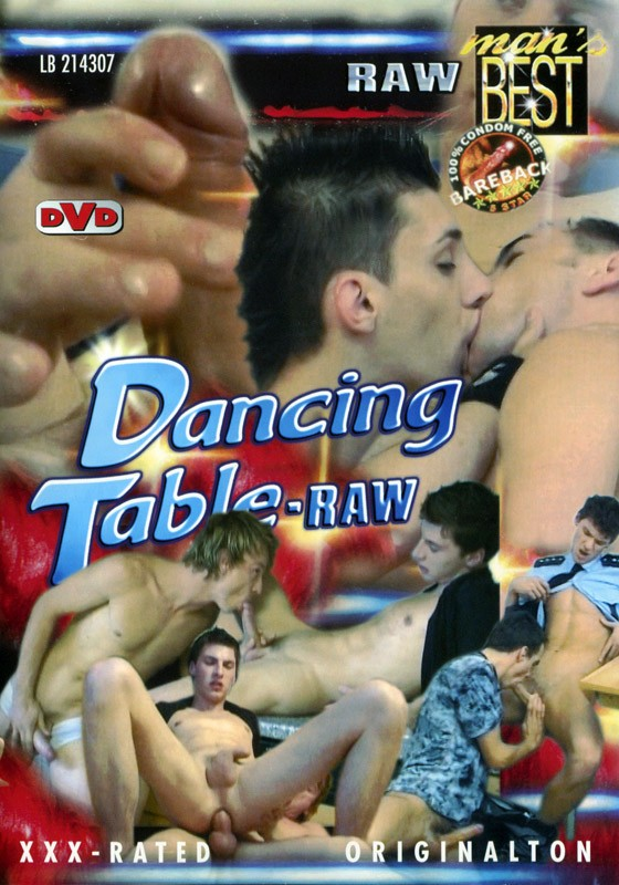 Dancing Table Raw DVD - Front