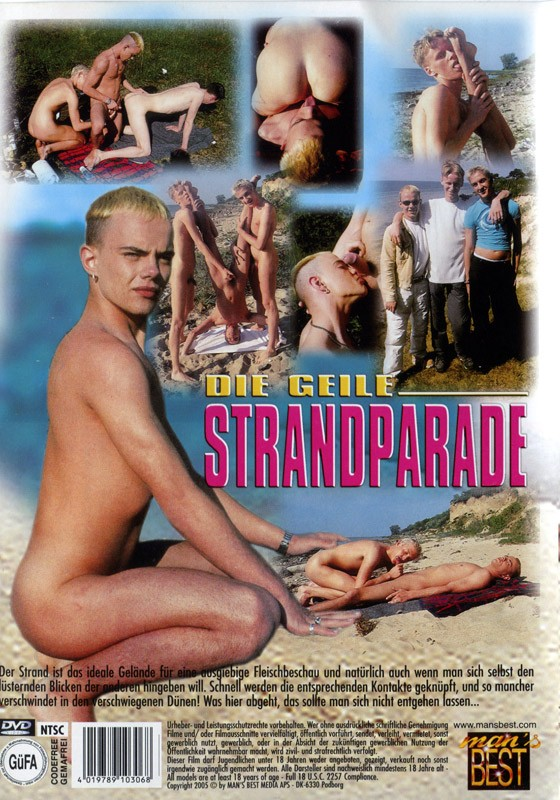 Die Geile Strandparade DVD - Back