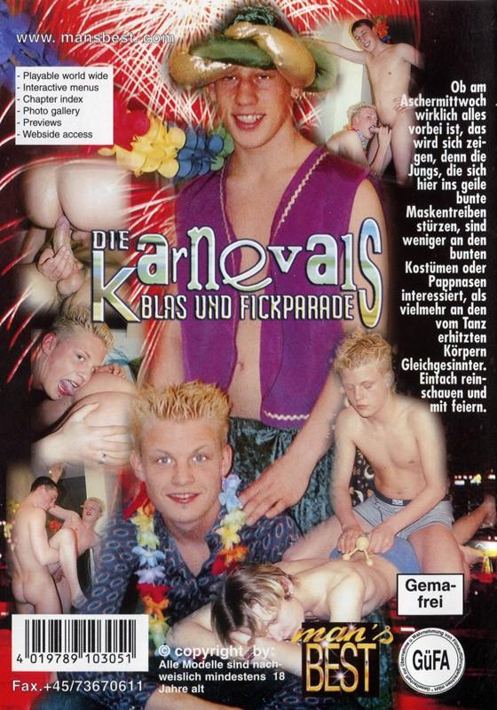 Die Karnevals Blas Und Fickparade DVD - Back
