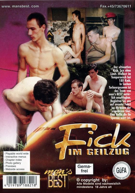 Fick Im Geilzug DVD - Back