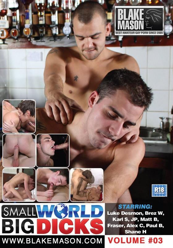 Small World Big Dicks Vol. 3 DVD - Front