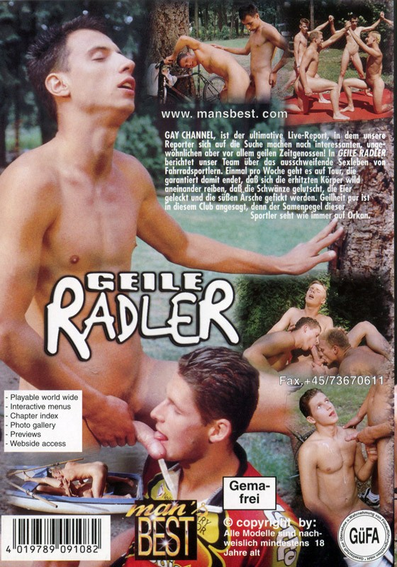 Geile Radler DVD - Back