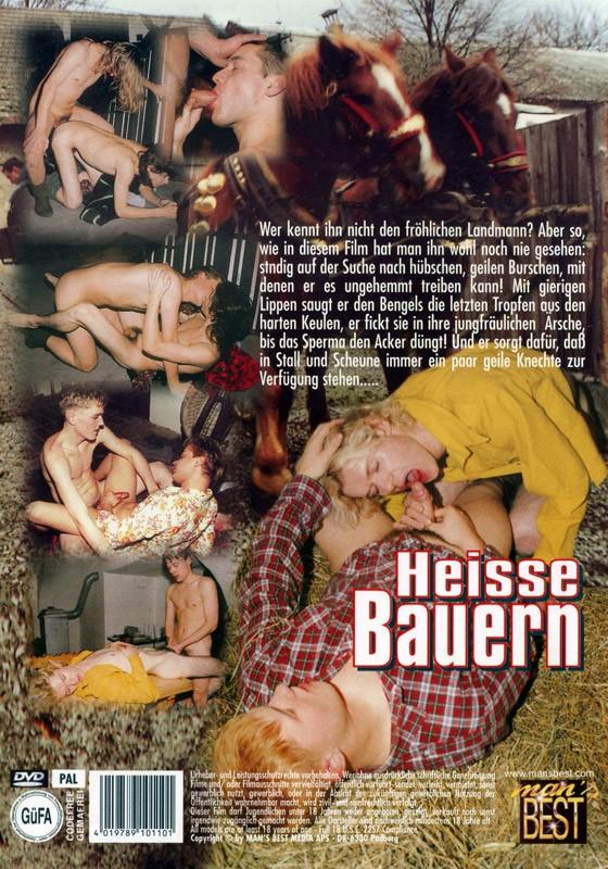 Heisse Bauern DVD - Back