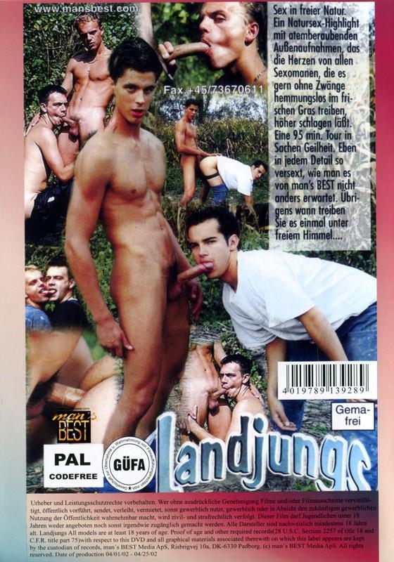 Landjungs DVD - Back