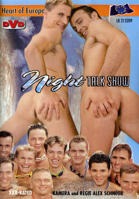 Night Talk Show DVD - Front