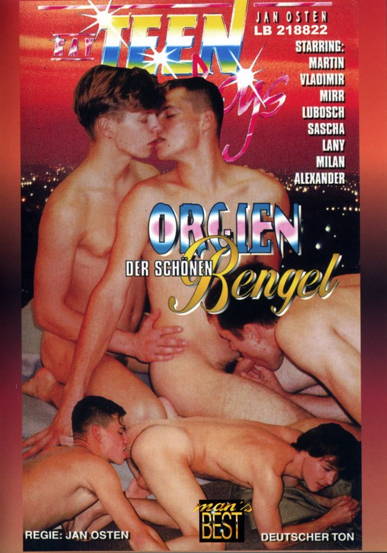 Orgien Der Schönen Bengel DVD - Front