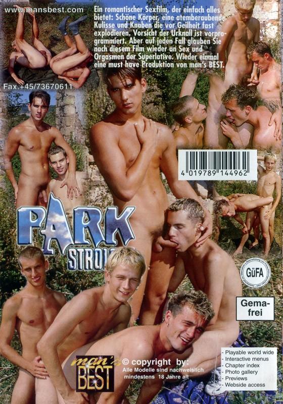 Parkstrolche DVD - Back