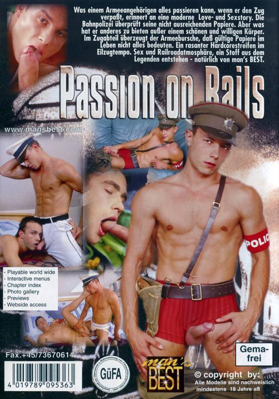 Passion On Rails DVD - Back