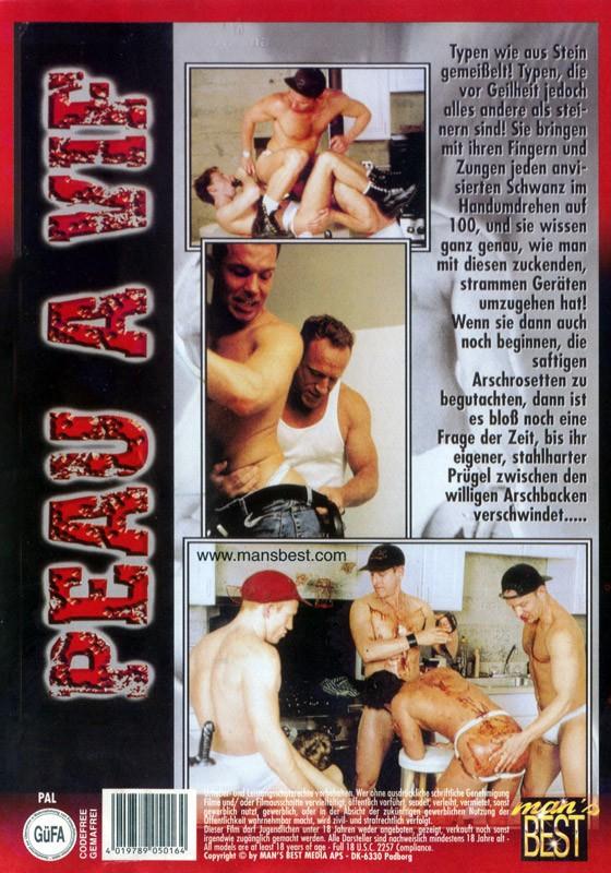 Peau A Vif DVD - Back