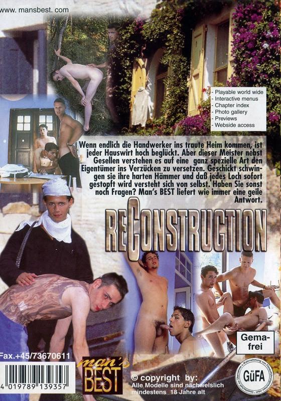 Reconstruction DVD - Back
