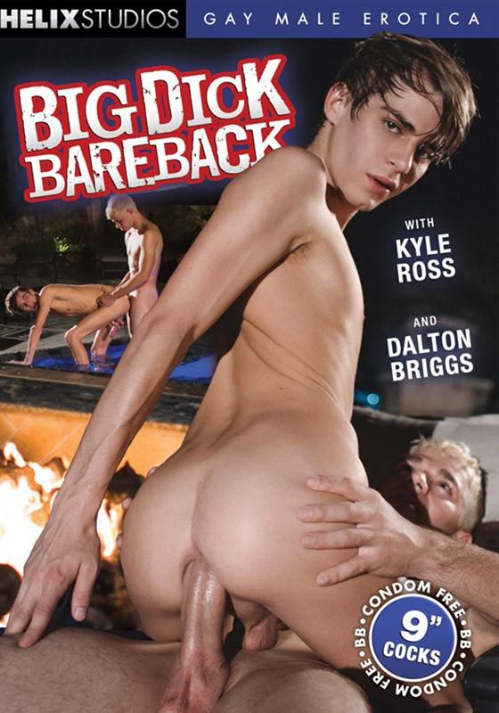 Big Dick Bareback (Helix) DVD - Front