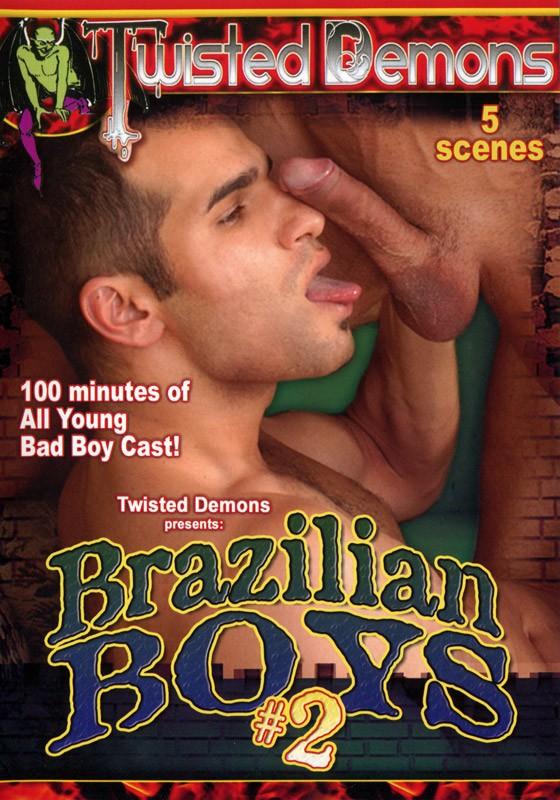 Brazilian Boys vol. 2 DVD - Front