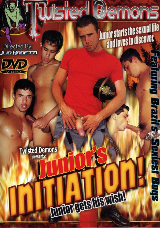 Junior's Initiation! DVD - Front
