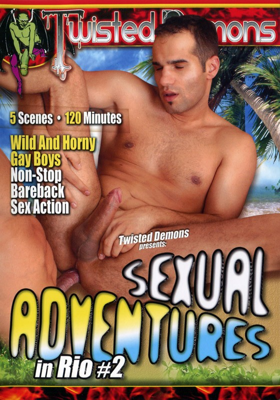 Sexual Adventures in Rio Vol. 2 DVD - Front
