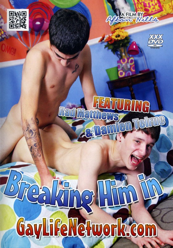 Breaking Him In (GayLife Network) DVD - Front