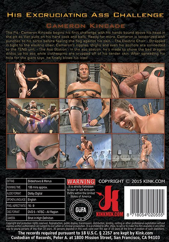 30 Minutes of Torment 24 DVD (S) - Back