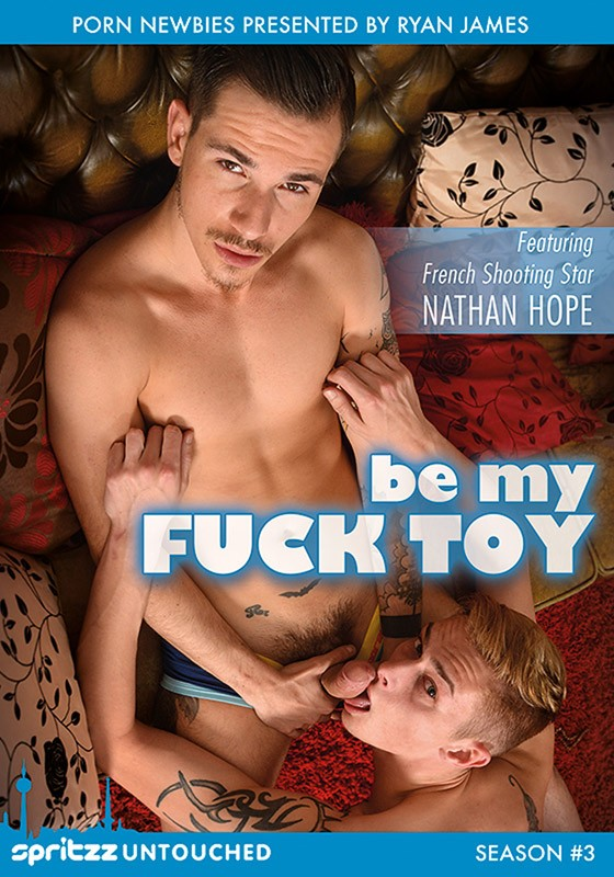 Be My Fuck Toy DVD - Front