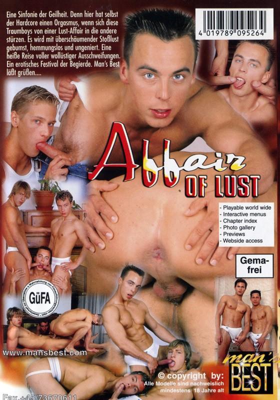 Affair of Lust DVD - Back