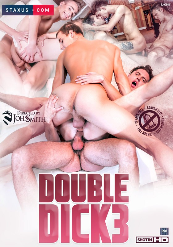 Double Dick 3 DVD - Front