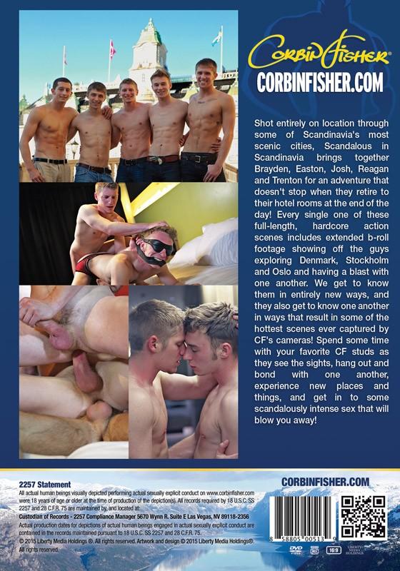 Scandalous in Scandinavia DVD - Back