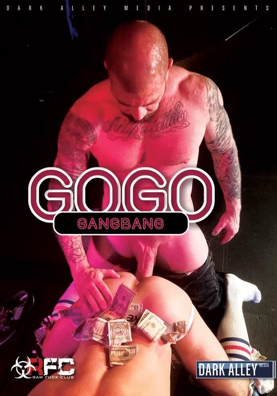 Go Go Gang Bang DVD - Front