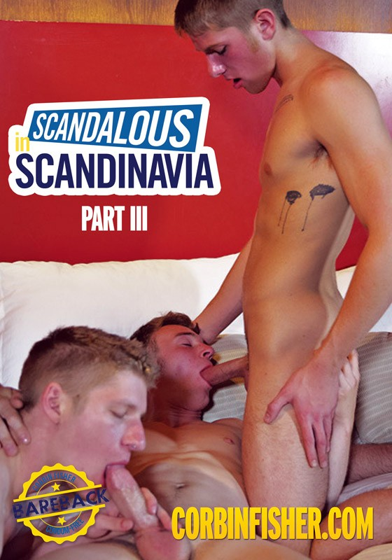 Scandalous in Scandinavia Part III DVD - Front