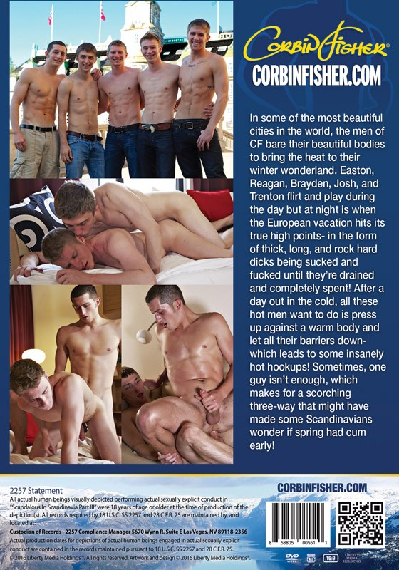 Scandalous in Scandinavia Part III DVD - Back