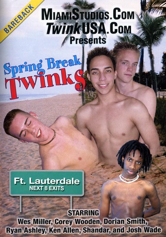 Spring Break Twinks DVD - Front
