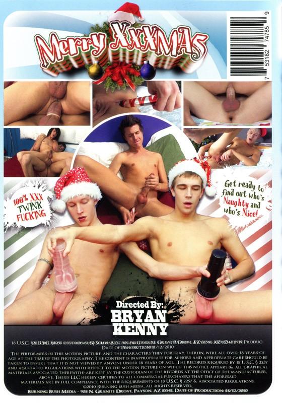 Merry XXXmas DVD - Back