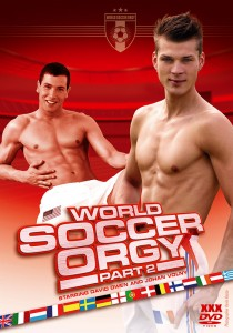 World Soccer Orgy part 2 DVD