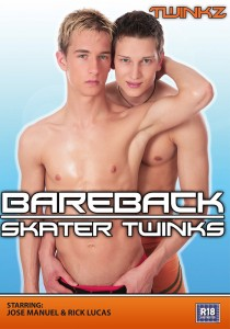Bareback Skater Twinks DVD