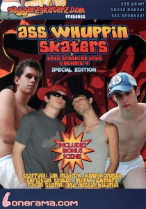 Ass Whuppin Skaters DVD - Front