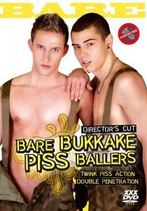 Bare Bukkake Piss Ballers DVDR