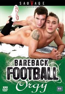 Bareback Football Orgy DVD