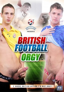 British Football Orgy DVDR (NC)