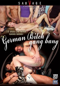 German Bitch Gang Bang DVD