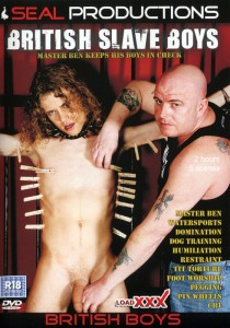 British Slave Boys DVD