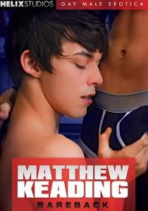 Matthew Keading Bareback DVD - Front
