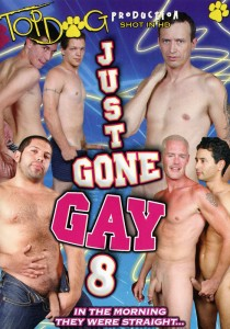 Just Gone Gay 8 DVD