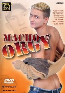 Macho Orgy DVD