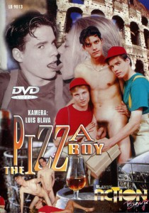 The Pizza Boy DVD