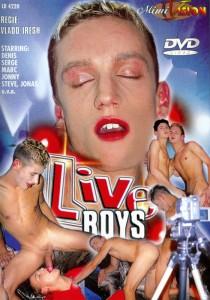 Live Boys DVD