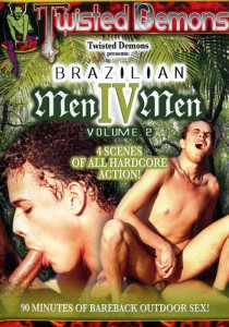 Brazilian MenIVMen Vol. 2 DVD