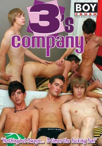 3's Company (Boy Crush) DVD - Front