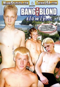 Bang the Blonde Slowly... DVD