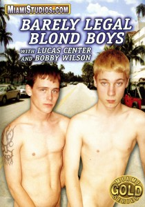 Barely Legal Blond Boys DVD