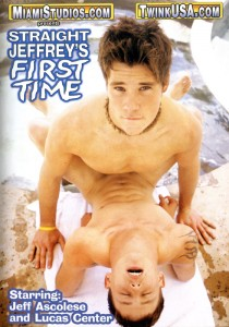 Straight Jeffrey's First Time DVD