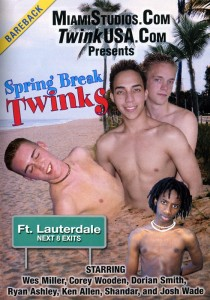 Spring Break Twinks DVD